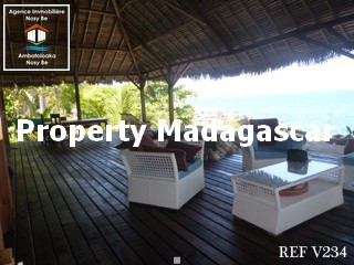 Sale beautiful villa Nosy Komba NosyBe